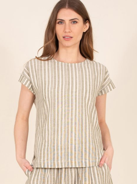 Boxy Coord Tee Front