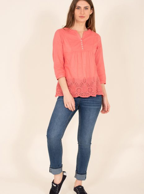 Broderie Blouse