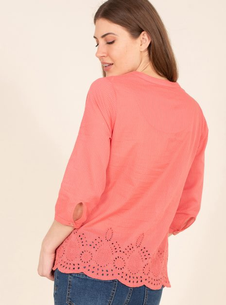 Broderie Blouse Back