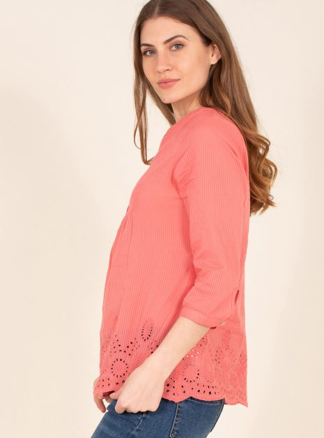Broderie Blouse Side