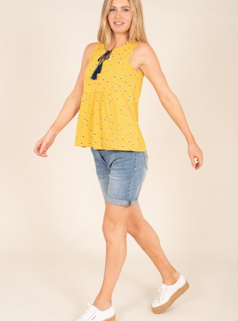 Confetti Sleeveless Top Front Side