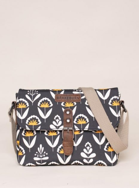 Geo Floral Roo Pouch Cross Body Bag