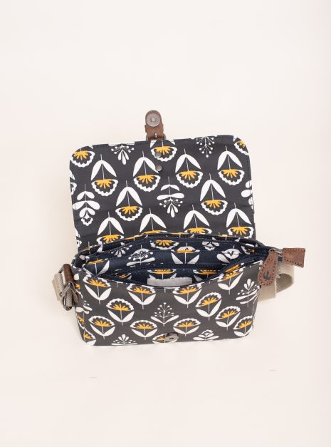 Geo Floral Roo Pouch Inside