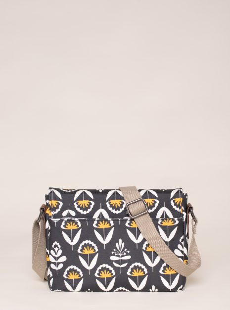Geo Floral Roo Pouch back