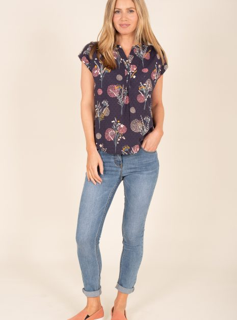 Meadow Flowers Blouse Front