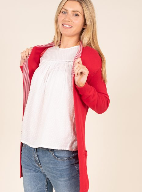 Pointelle Cardi Front